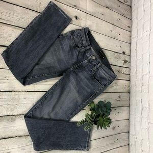 Genetic Denim Alexa Skinny Straight Crop Jean